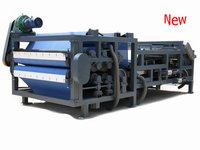 Industrial Sewage Equipment Belt Filter Press For Ceramics Industry