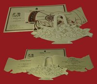 Designer Hand Made Invitation Cards