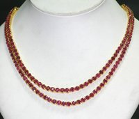 Burma Ruby Necklace