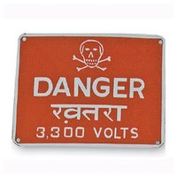Danger Notice Board
