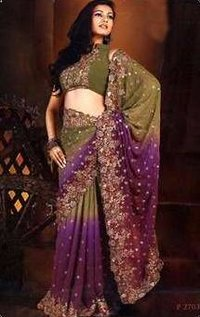 Shaded Saree