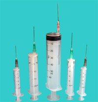 3-Part Disposable Syringe