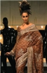 Silk Silver Saree