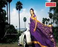 Purple Silk Sarees