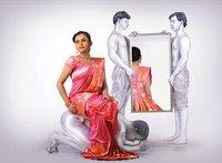 Trendy Shaded Silk Sarees
