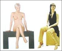 Sitting Women Fashion Mannequins