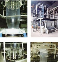 Multilayer Co-Extrusion Film Blow Molding Machine Unit