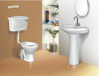 Four Piece Bathroom Set