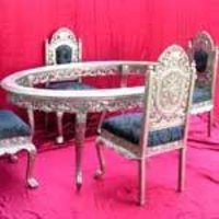 Silver Dining Furniture