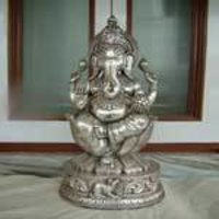 Decorative Silver Statues