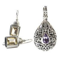 Sterling Silver Pendant Sets