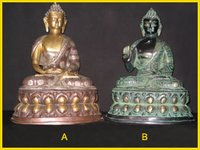 BRASS BUDHA SITTING