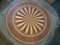 DESIGNER HARDWOOD FLOOR MEDALLIONS