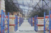 Rack Supported Mezzahine Floor Racking System