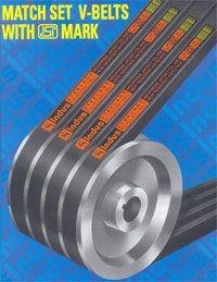 Hexagonal V–Belts