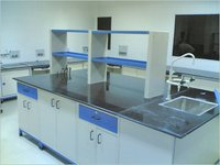Laboratory Island Bench With Services