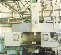 2- Axis CNC Double Column Vertical Turning Machine
