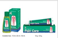 Pain Care Tube And Oil