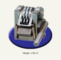 Hot Stamping Numbering Machine For for HDPE/PVC Pipes