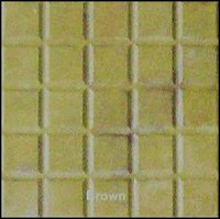 Checkers Brown Paver Tiles
