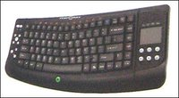Cordless Keyboard With Touchpad