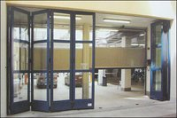 High Speed Folding Doors
