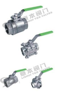 INSIDE THREAD BALL VALVES