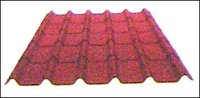 Red Corrugated Tiles