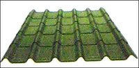 Green Corrugated Tiles