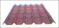 Shaded Brown Corrugated Tiles