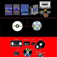 Video Tapes To DVD / CD Conversion Service