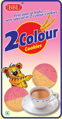 2 Colour Strawberry Biscuits