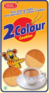 2 Colour Biscuits