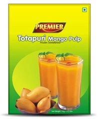 Frozen Totapuri Mango Pulp