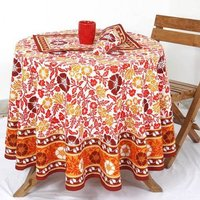Linen Flower Table Linens