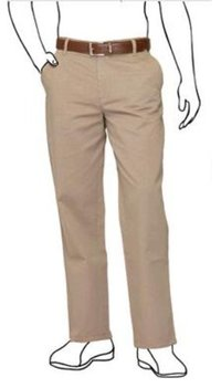 Brown Stone Formal Trousers