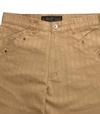 Mens Brown Colour Casual Trousers