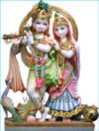 Beautiful Radha Krishna Pair Statue