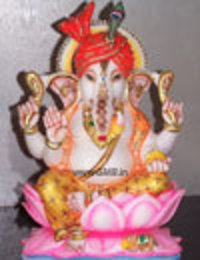 Marble Statue Of Lord Ganesha