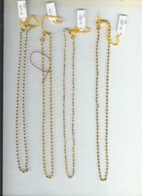 Handmade Gold Chains