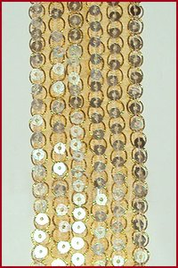 Golden 6 Line King Lace