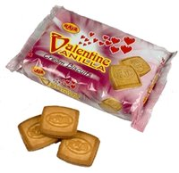 Valentine Vanilla Cream Biscuits