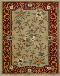 Beige Colour Nepali Carpets