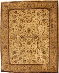 Beige Colour Handmade Carpets