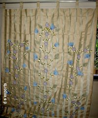 Trendy Embroidered Curtains