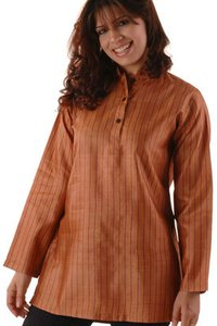 Silk Dhar Short Kurta