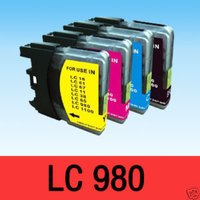 Ink Cartridge for LC980 Compatible Brother Printer