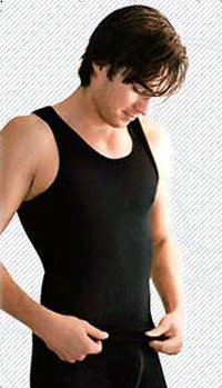 Black Colour Mens Vest