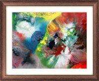 Abstract Water Color Painting