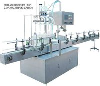 Auto Filling And Capping Machine